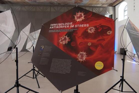 Life Sciences Ausstellung